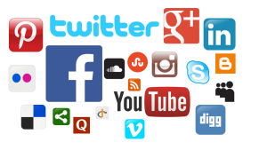Add Social media links to your website and contact form
